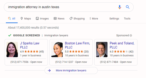 immigration attorney in Austin Texas.