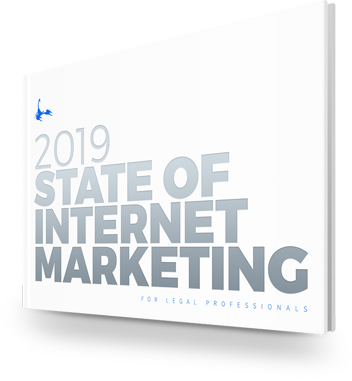 An image of the, 2019 State of Internet Marketing book.