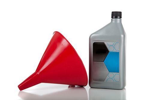 Oil funnel.