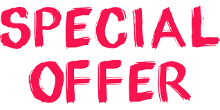 graphic that says Special Offer